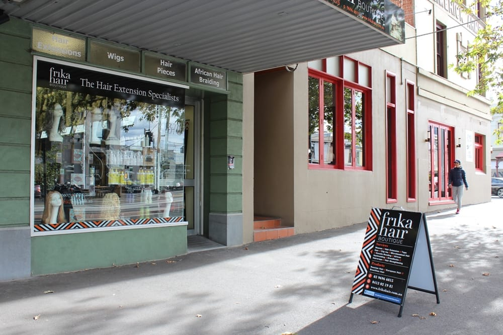 Frika Hair Boutique On Clarendon Street South Melbourne Yelp