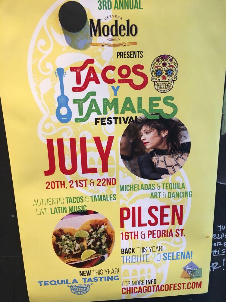 Tacos Y Tamales Festival: 847 W 16th St, Chicago, IL