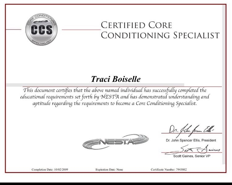 I Am A Nesta Certified Elite Training Specialist Yelp