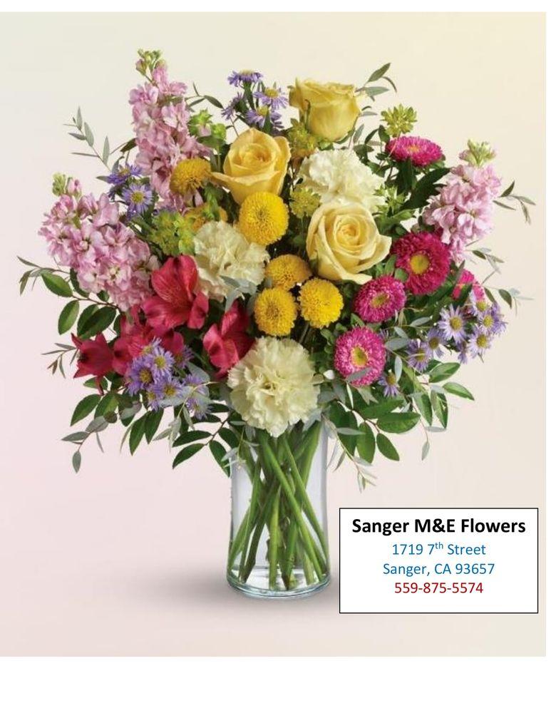 Sanger M&E Flowers