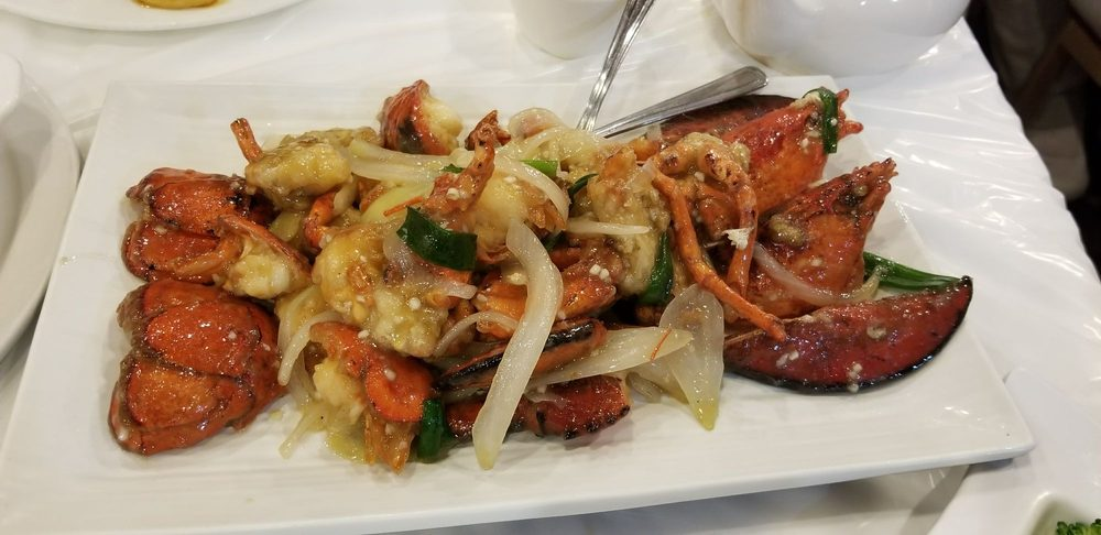 lobster with green onion and ginger yelp. Black Bedroom Furniture Sets. Home Design Ideas
