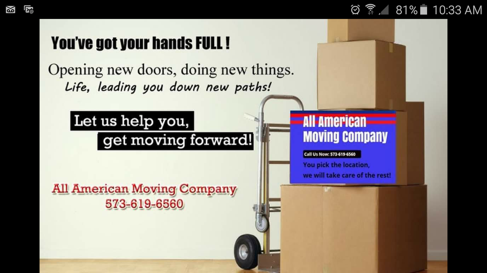All American Moving Company: 214 Donald Ave, Jefferson City, MO