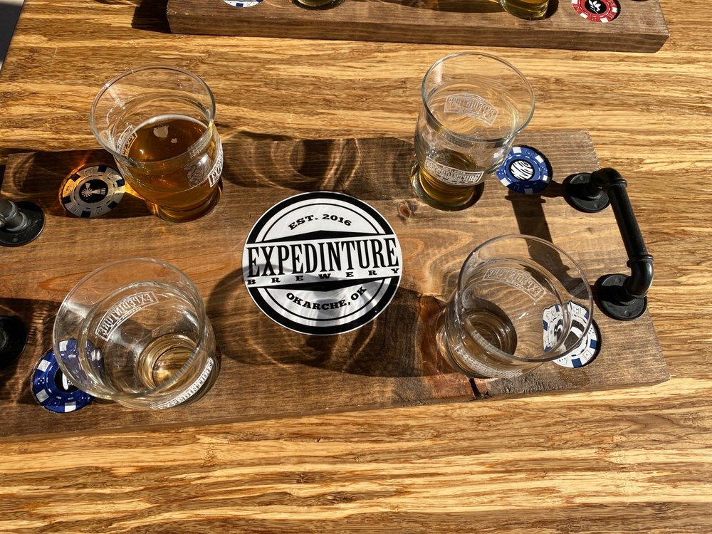 Expedinture Brewery: 201 S 2nd St, Okarche, OK
