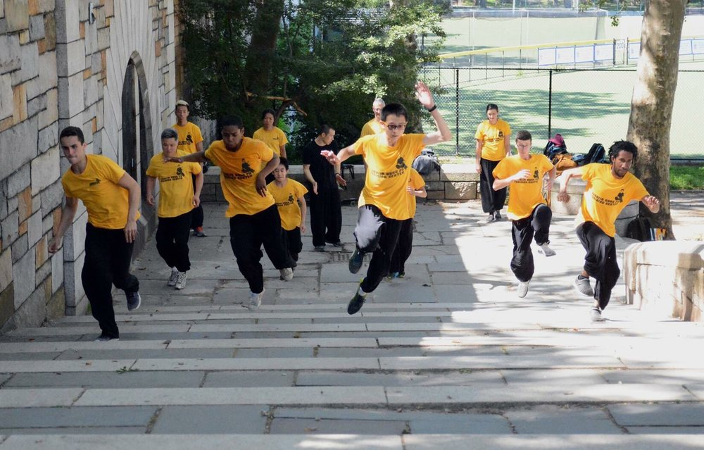 Shaolin kung fu training center