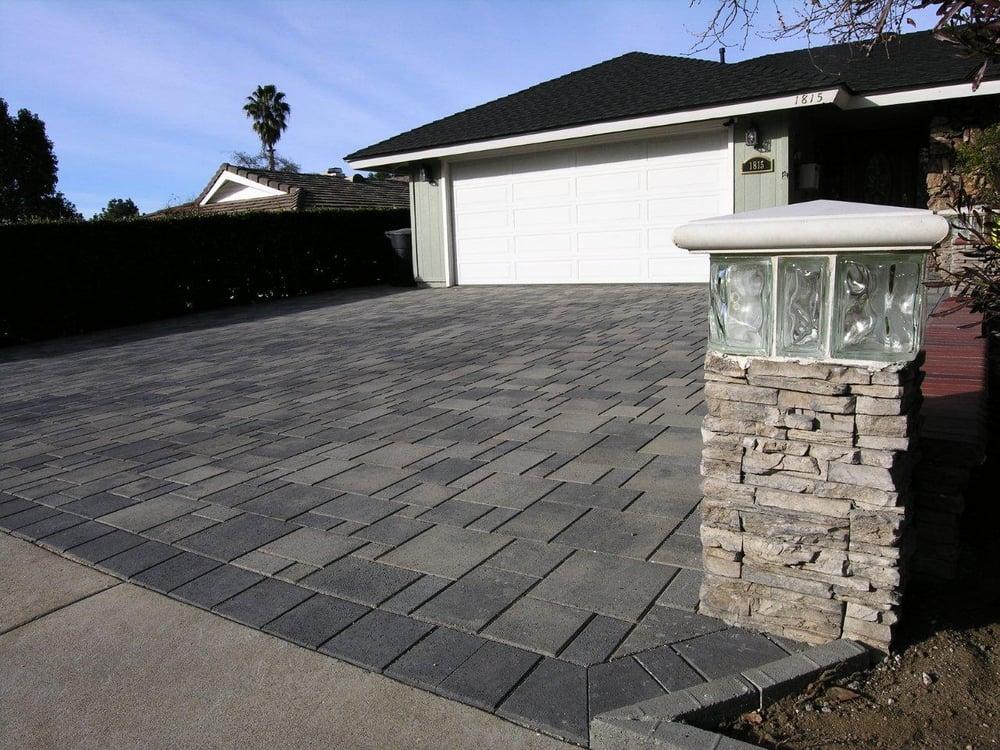 5 Piece Grey Charcoal Driveway Yelp