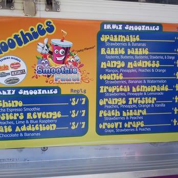 Smoothie Food Truck Names