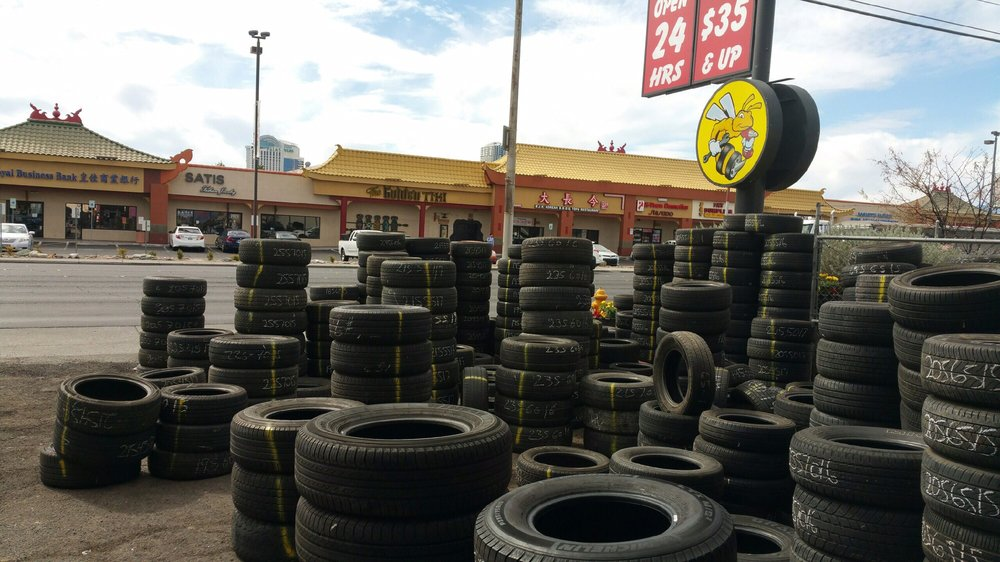 Organizing A New Shipment Of Used Tires Yelp