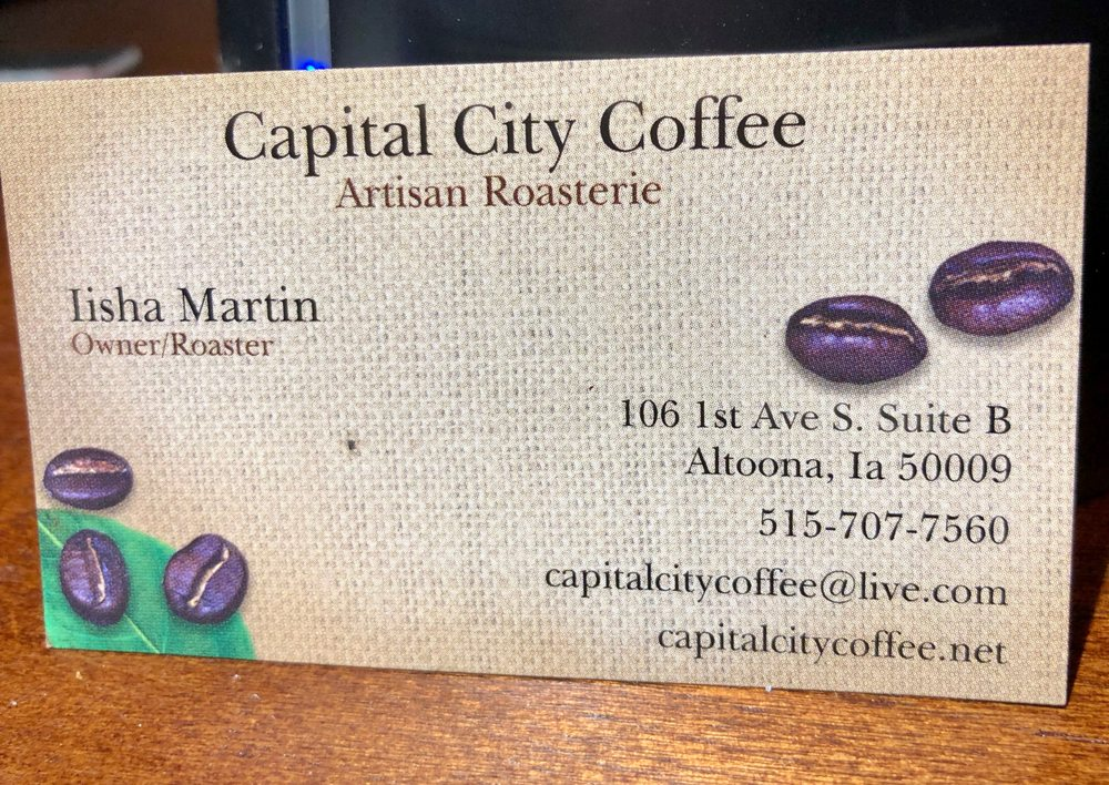 Capital City Coffee: 106 1st Ave S, Altoona, IA