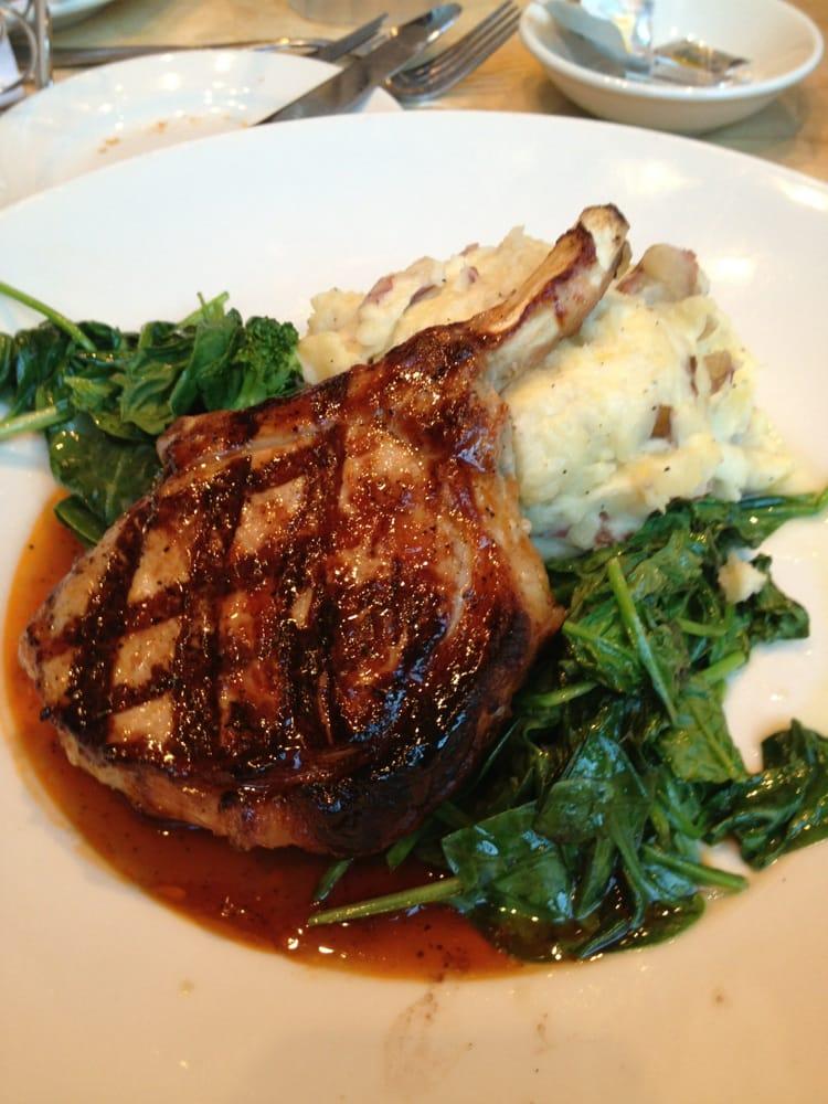 Grilled pork chop - Yelp
