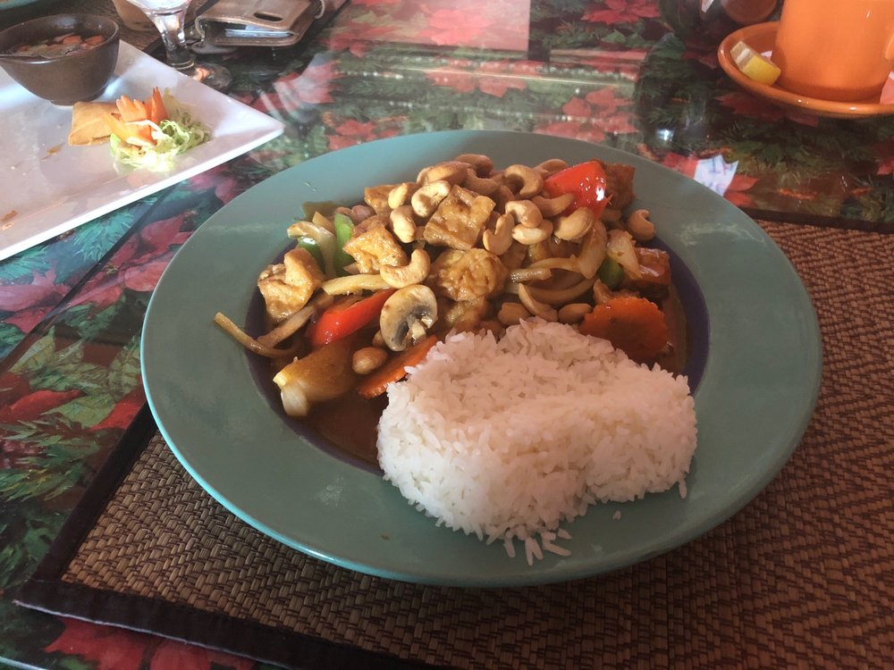 Food from Pepper Terrace Thai Cuisine