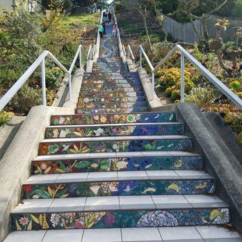 The 16th Avenue Tiled Steps   1479 Photos U0026 516 Reviews   Local Flavor    Moraga St, Inner Sunset, San Francisco, CA   Yelp