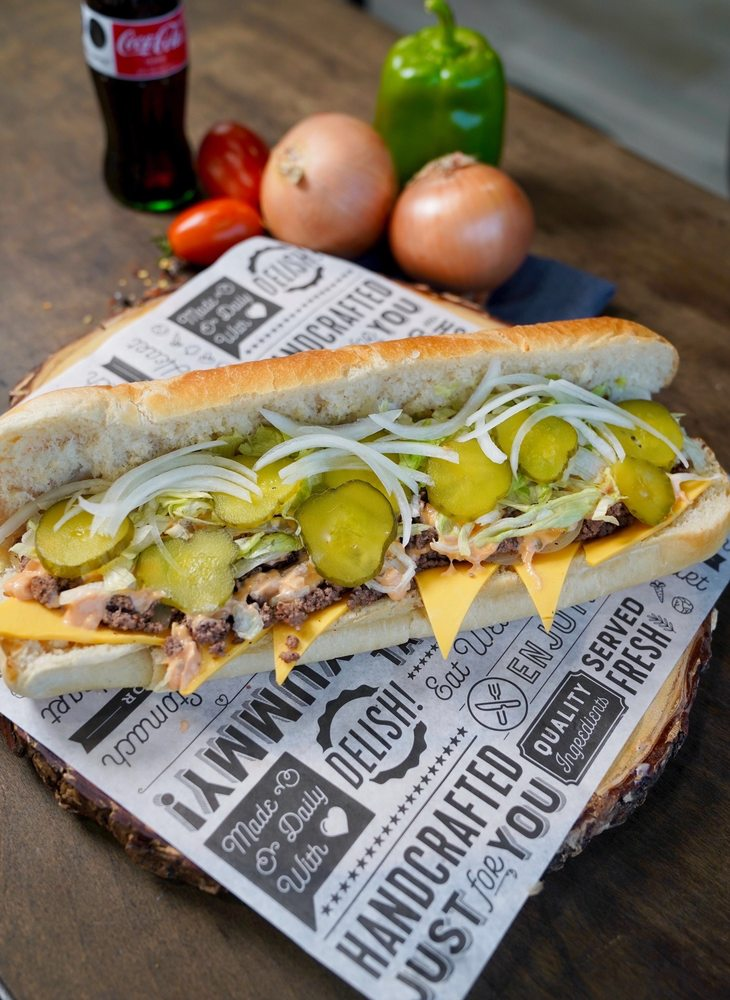 Bulldog's Cheesesteaks: 22749 Michigan Ave, Dearborn, MI
