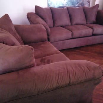Lovely Photo Of Alexu0027s Furniture   Jamaica, NY, United States. My Sofa After  Asembled