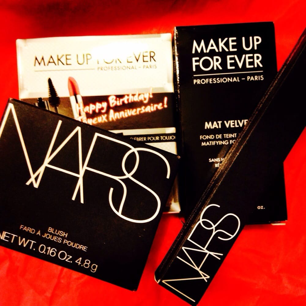 Nars Blush Eyeliner Makeup Forever Matte Foundation Birthday