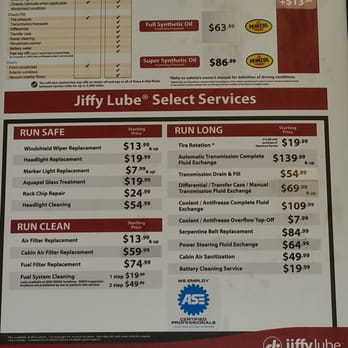 Jiffy Lube - 17 Reviews - Oil Change Stations - 6630 ...
