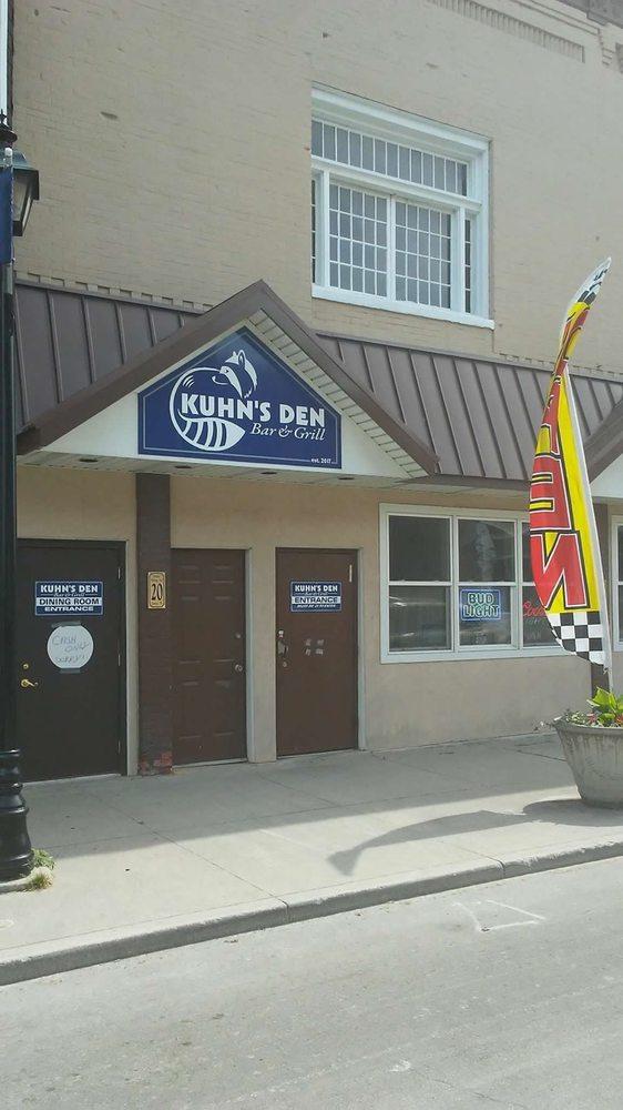 Kuhns Den: 442 E Line St, Geneva, IN