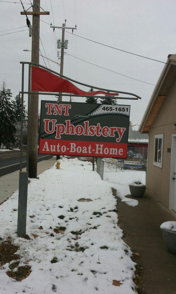 TNT Upholstery: 7002 N Market, Spokane, WA