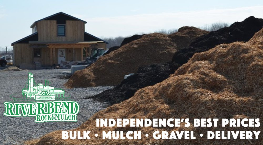 Riverbend Rock & Mulch: 15101 Industrial Dr, Independence, MO