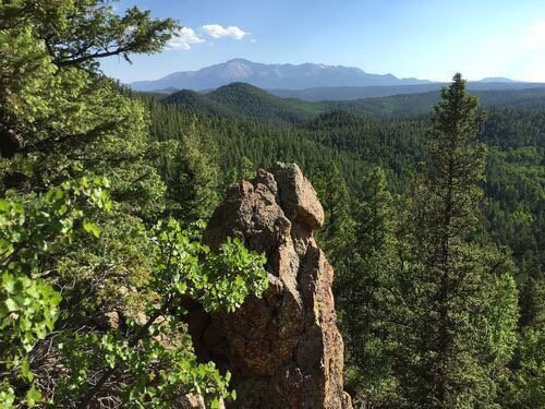 Stanley Canyon Trail: Air Force Academy, Air Force Academy, CO