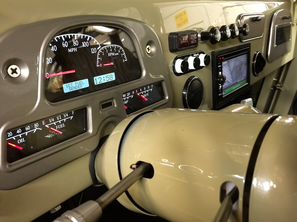 1978 Fj40 Custom Dash On A Full Restoration Vhx Dash