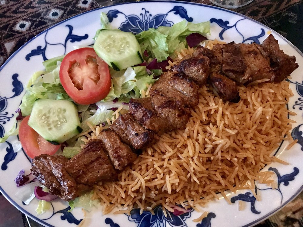 Lamb kabob only 1 skewer for 18 yelp for Ariana afghan cuisine menu