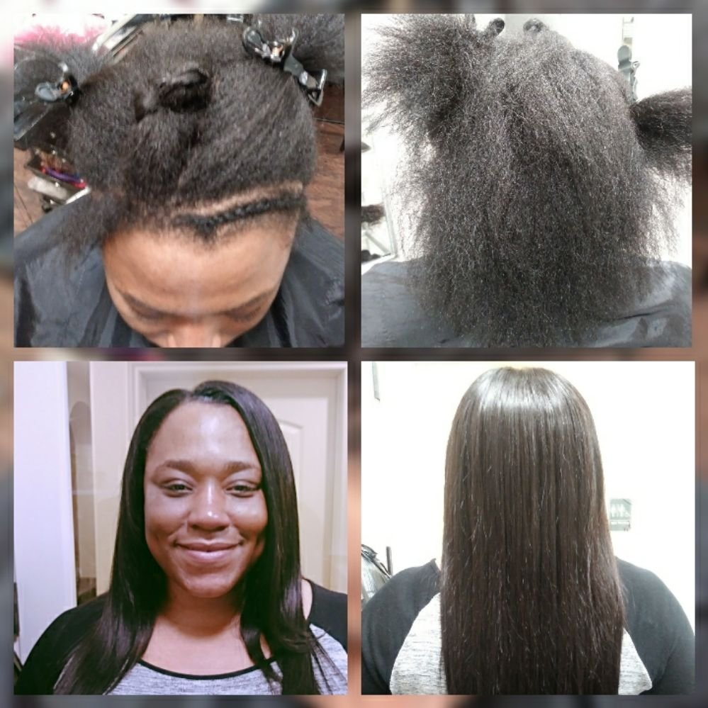 Hair Extensions Transformations Yelp