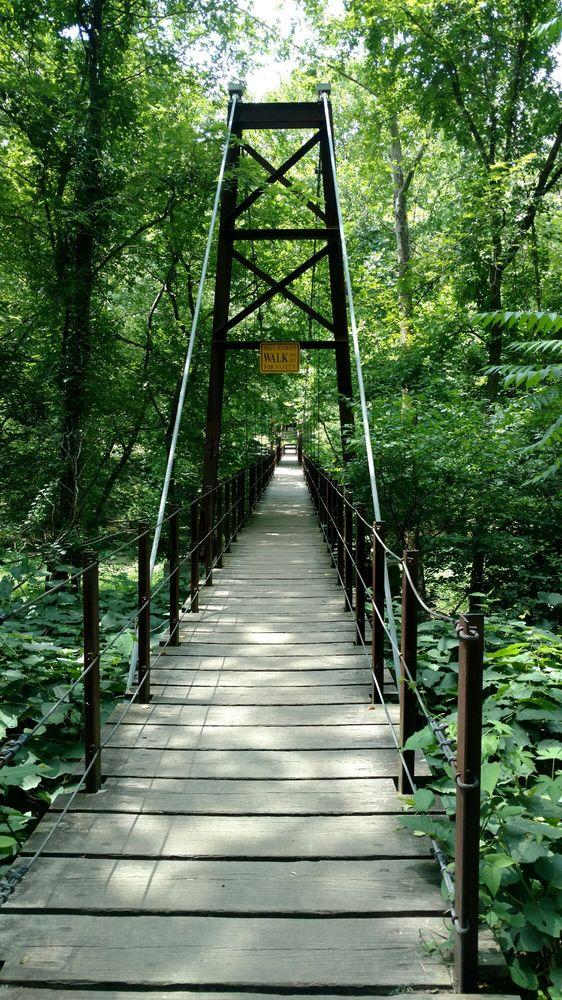 Swinging bridge maryland