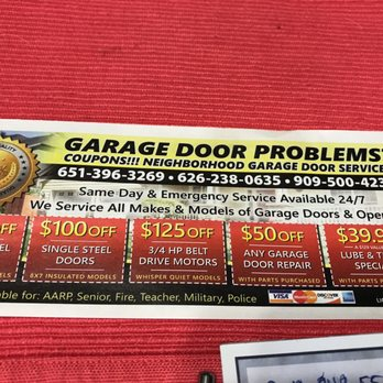 Photo Of Neighborhood Garage Door Services   Orange, CA, United States. Donu0027