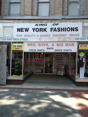 Affordable mens clothing stores nyc
