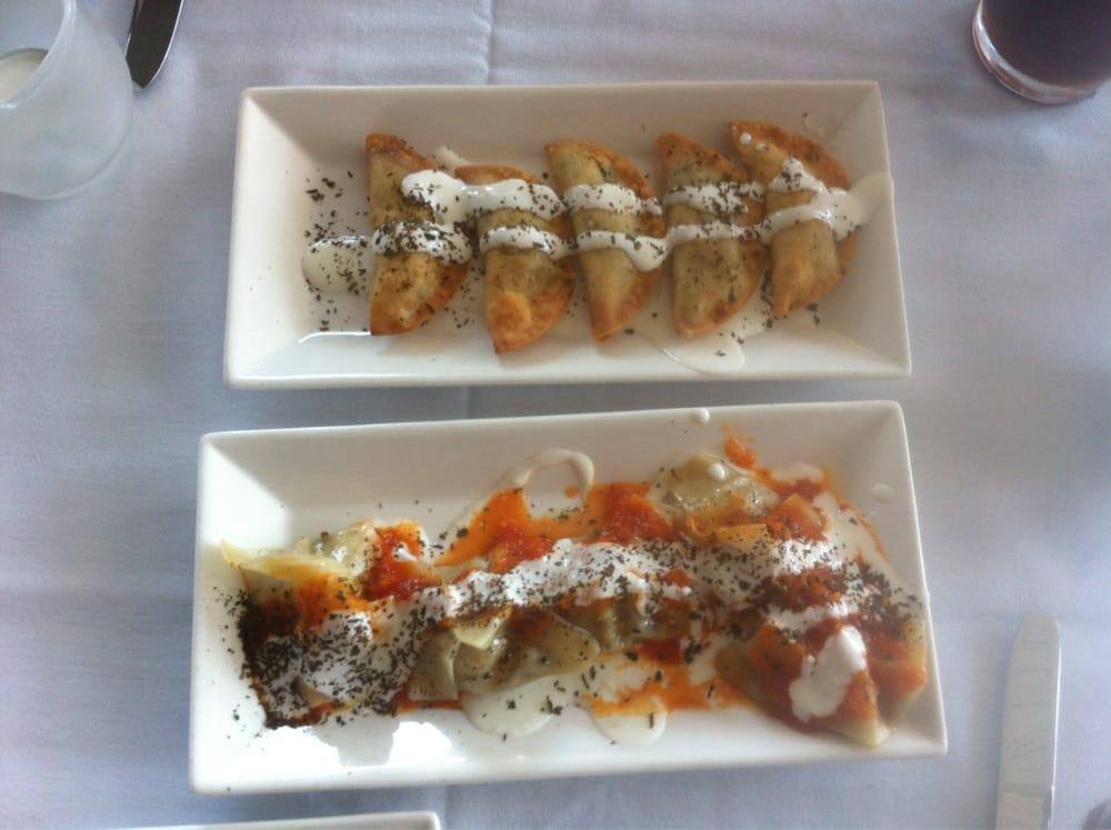 Manto bottom and samosa like potato turnover yelp for Ariana afghan cuisine