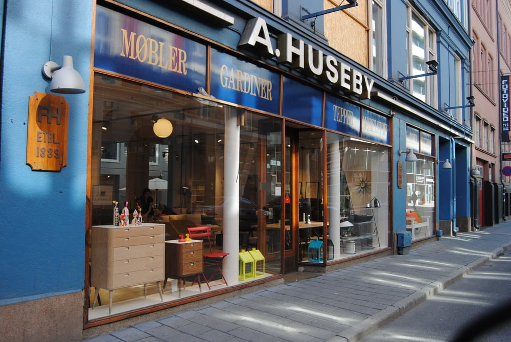 A huseby & co   møbelbutikker   sentrum   oslo   anmeldelser ...