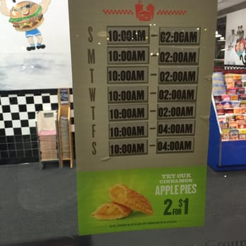 Checkers Fast Food Hours Of Operation