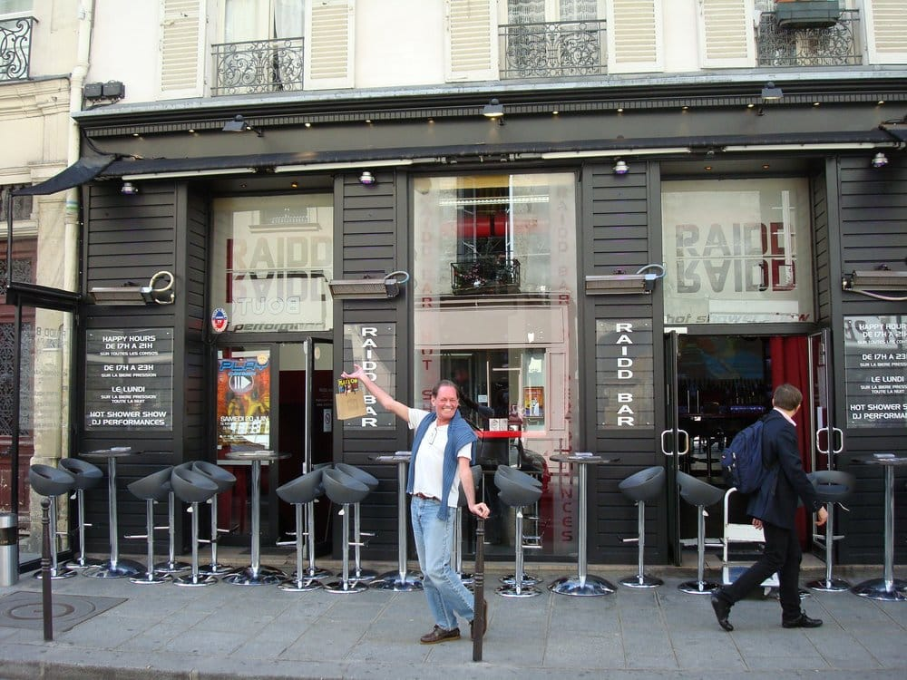 Bar gay paris