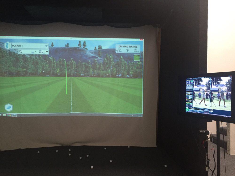 Launch Monitor Simulator High Speed Camera Motion