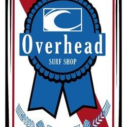 Overhead Surf Shop logo