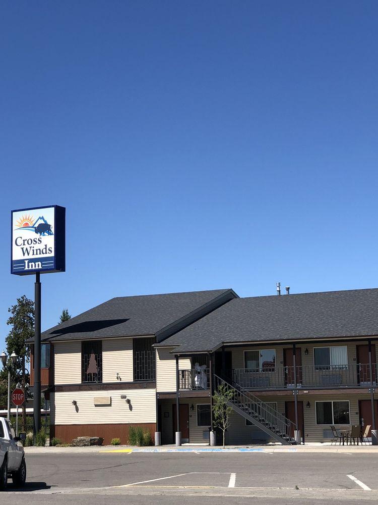 Best Western Cross-Winds Motor Inn: 201 Firehole Ave, West Yellowstone, MT