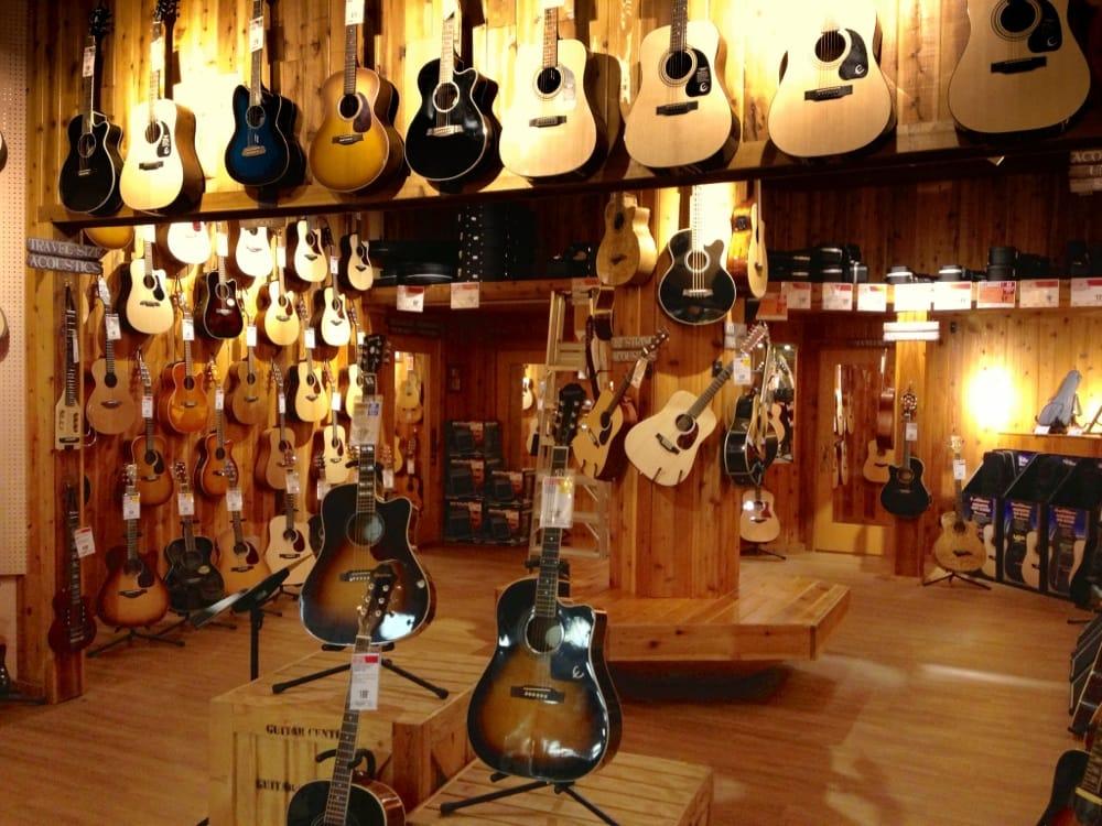 acoustic room at guitar center canton yelp. Black Bedroom Furniture Sets. Home Design Ideas