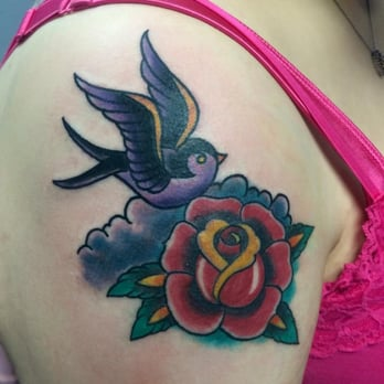 Tattoo Done By Jaime Ruiz The Maleficent Tattoo Yelp