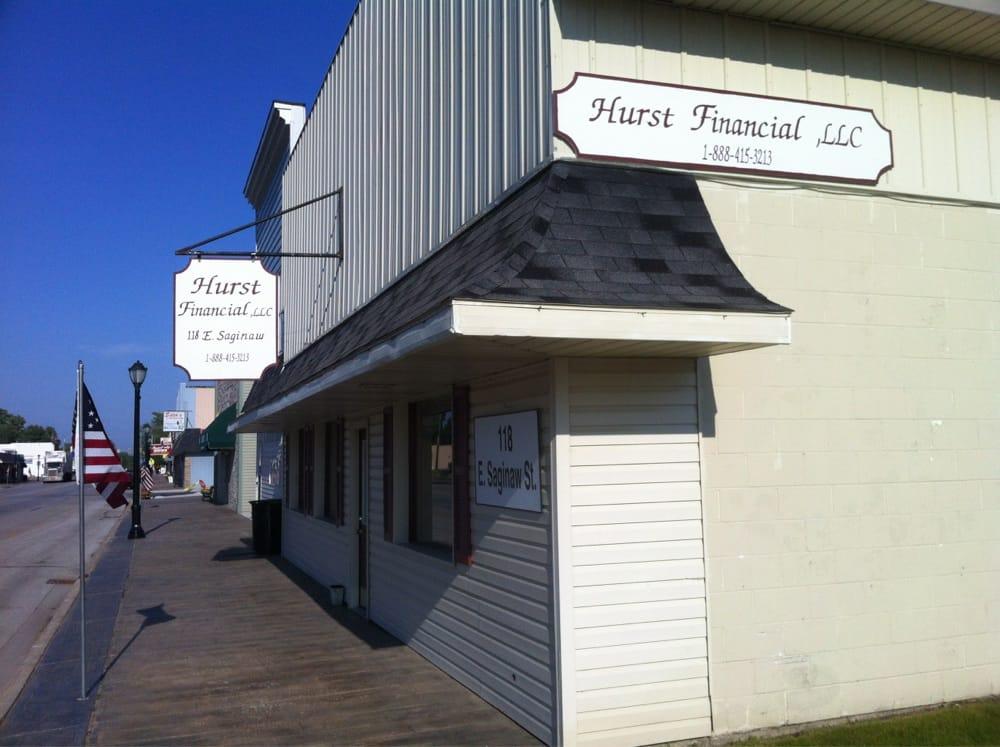 Hurst Financial LLC: 118 E Saginaw St, Breckenridge, MI