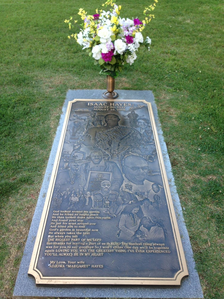 Gravesite Of Isaac Hayes Yelp
