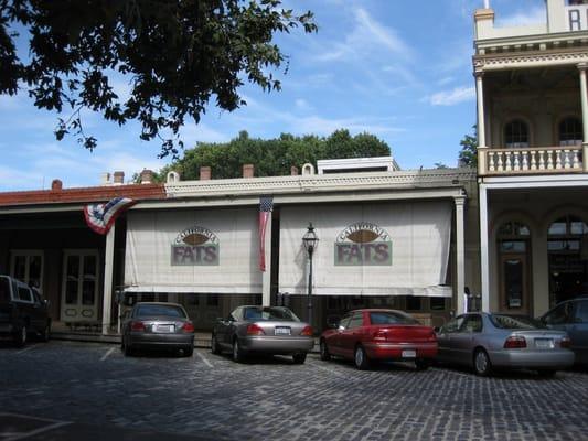 Fats Restaurant Old Sacramento Ca