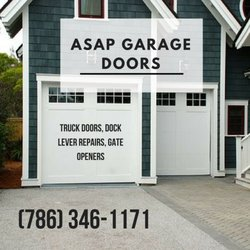 Genial Photo Of ASAP Garage Doors   Hialeah, FL, United States. Asap Garage Doors