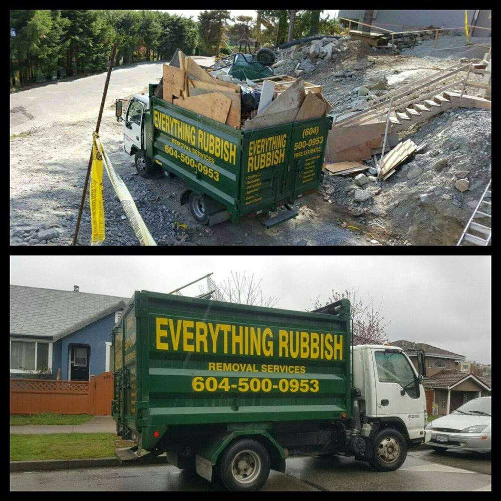 Everything Rubbish Removal Junk Hauling Yaletown Vancouver Bc Phone Number Yelp