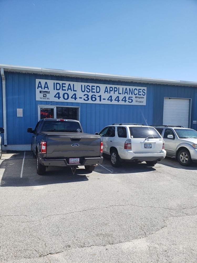 A A Ideal Used Appliances: 4158 Old Dixie Hwy, Hapeville, GA