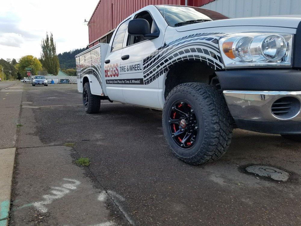 Beggs Tire & Wheel: 838 Main St, Philomath, OR