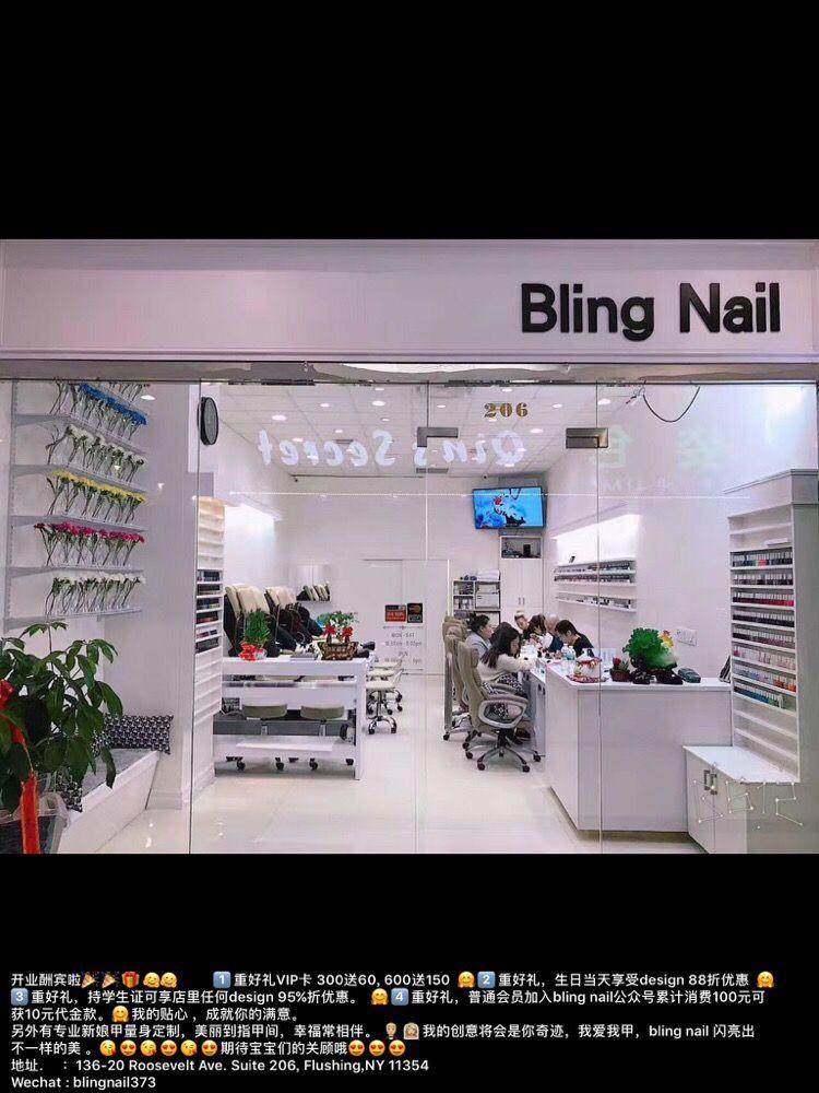 Bling Nail: 136-20 Roosevelt Ave, Flushing, NY
