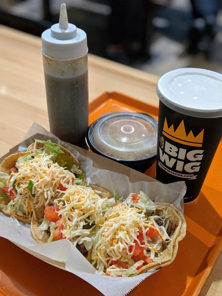 Food from Big Wig Tacos