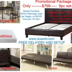 photo of ocean furniture las vegas nv united states 799 home package