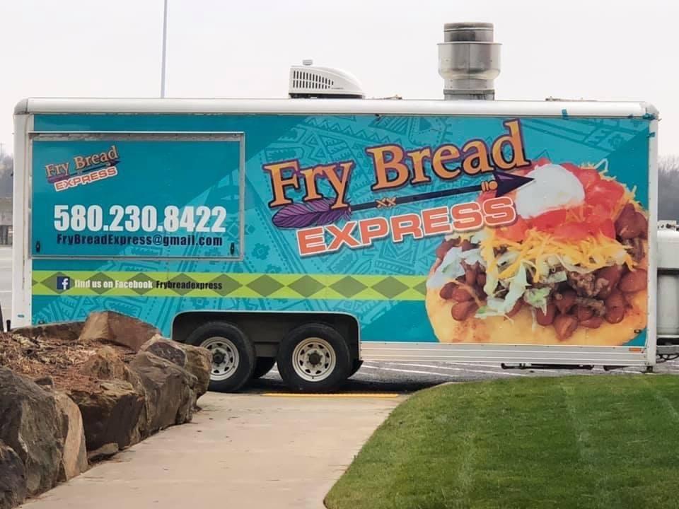 Fry Bread Express: 801 Service Rd, Calera, OK
