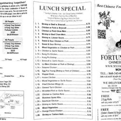 Fortune Garden 12 Anmeldelser Kinesisk 340 E Main St Middletown Ct Usa